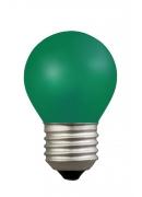 [E27 15W zelená]